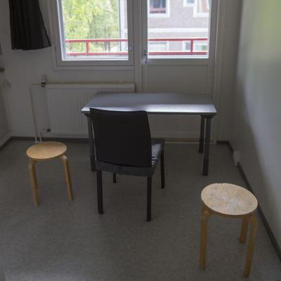 Tyhjä opiskelija-asunto Kuopiossa.