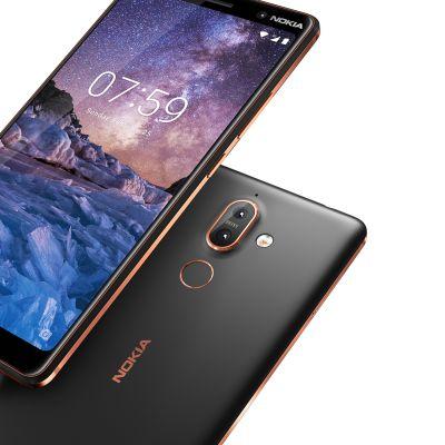 Nokia 7 plus -kännyköitä