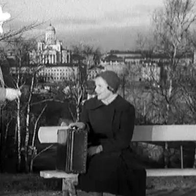 Näyttelijä Maija Karhi vuonna 1954
