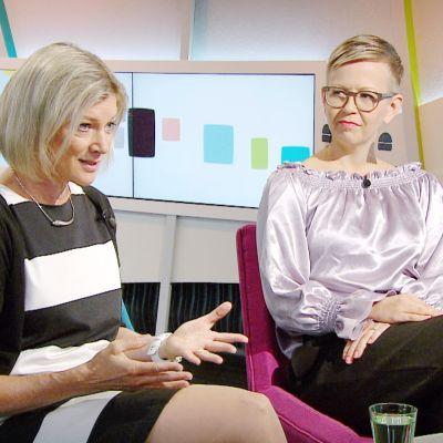 Laura Airas ja Silja Hurskainen