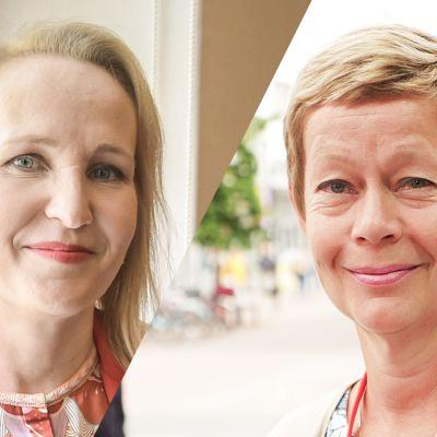 Minna Helle ja Eeva-Liisa Inkeroinen