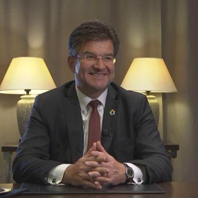 Ordförande för FN:s sjuttioandra generalförsamling Miroslav Lajcak.