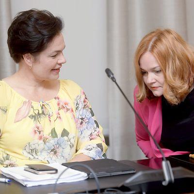 Eduskunnan sosiaali- ja terveysvaliokunta järjesti julkisen kuulemisen hallituksen esittämistä korjauksista sote-ehdotukseen
