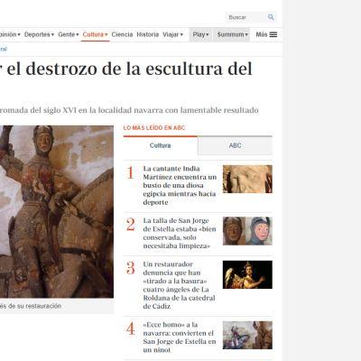 Kuvakaappaus www.abc.es -nettisivuilta.