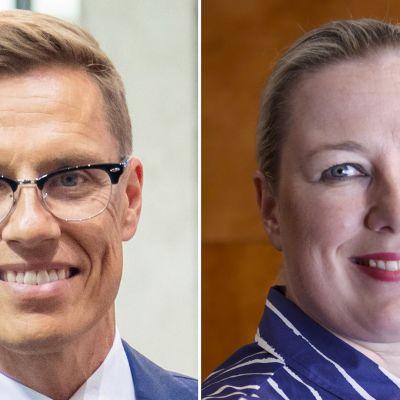 Alexander Stubb ja Jutta Urpilainen.