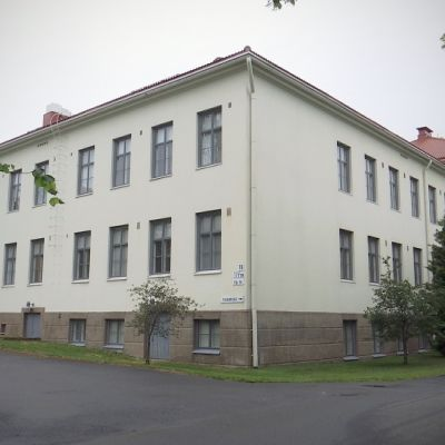 Törnävän vanhaa sairaala-aluetta Seinäjoella.