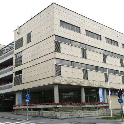 Jyväskylän kaupunginkirjasto ulkoa.