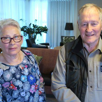 Marjut ja Vesa Karvinen.