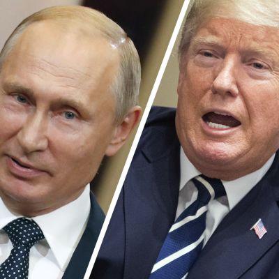 Trump pyörsi Helsingin kohupuheitaan