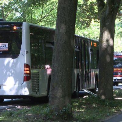 Buss i tyska Lybeck.