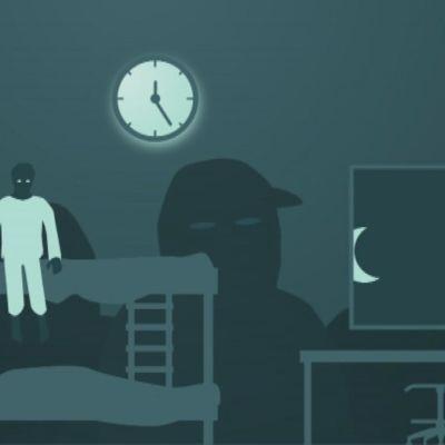 Kiusaaminen voi aiheuttaa unettomia öitä
