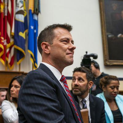 Peter Strzok kuvattuna oikeusistunnossa Washingtonissa 12. heinäkuuta.