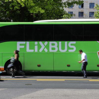 En buss från bolaget Flexibuss.