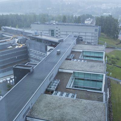 Technopoliksen rakennuksia Kuopiossa.