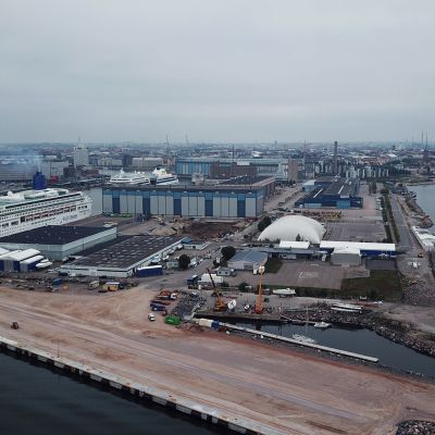 """Hernesaaresta on tulossa """"merellinen keskittymä"""", tältä siellä näyttää syyskuussa 2018"""