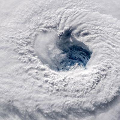 Nasan välittämä kuva Florencen silmästä Atlantin yllä 12. syyskuuta.