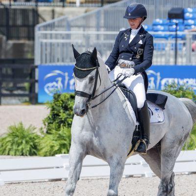 Kouluratsastuksen MM-kisojen Grand Prix: Emma Kanerva ja Heartbreaker