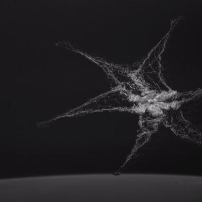 Avaruusromun keräämiseen tarkoitettu verkko testissä. Lähde: University of Surrey Space Center