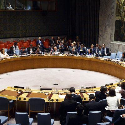 Trump johtaa puhetta YK:n turvallisuusneuvostossa