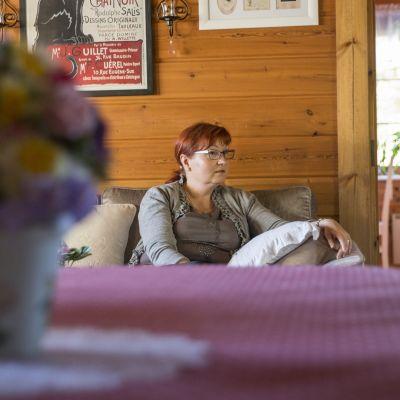 Siilinjärveläinen Leena Koponen on kärsinyt mielenterveysongelmista lähes koko elämänsä.