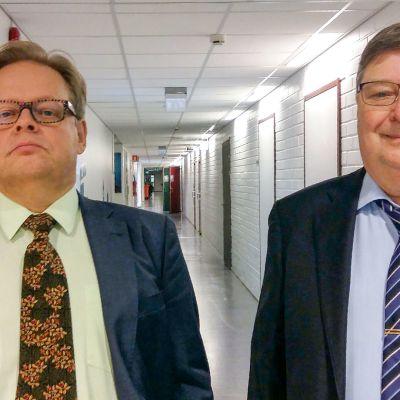 Juhana Vartiainen ja Lasse Laatunen
