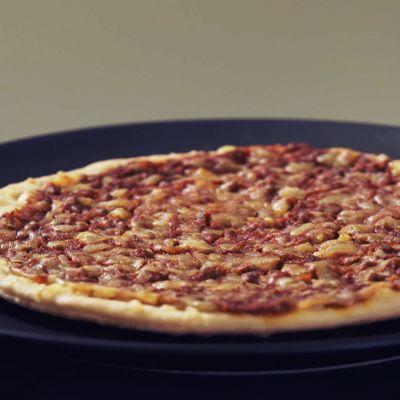 Kuva Saarioisten 200g einespizzasta (jauheliha).