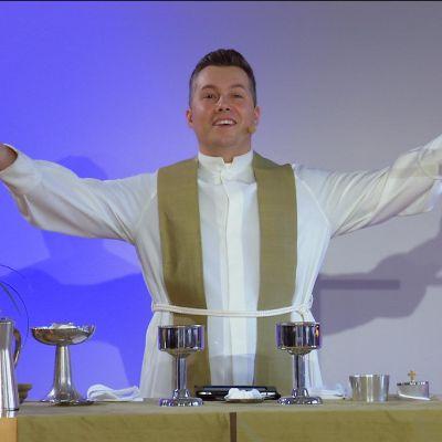 Daniel Björk som liturg