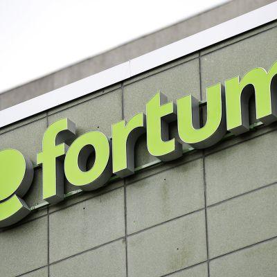 Energiayhtiö Fortumin pääkonttori.
