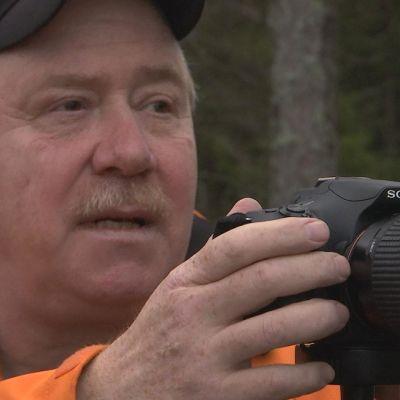 Harri Mällinen on oululainen innokas harrastelijavalokuvaaja.