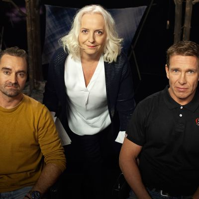 Mikko Paasi, Maarit Tastula ja Patrik Grönqvist