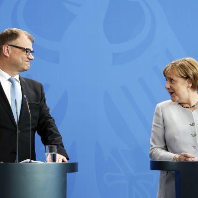 Sipilä tapaa Merkelin