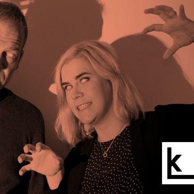 Matti Rämö ja Sofia Tawast kuvattuna zombeina.