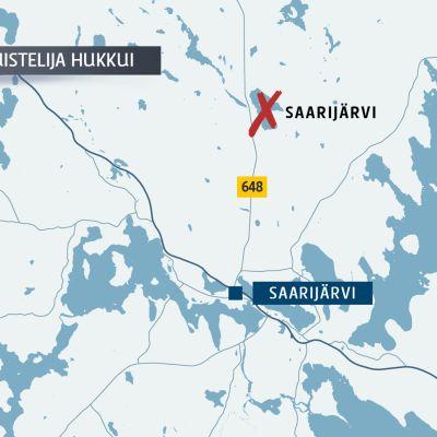 Jo toinen retkiluistelija hukkui pohjoisessa Keski-Suomessa.
