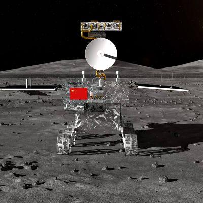Kiinan valmistama tutkimusalus Chang'e-4.