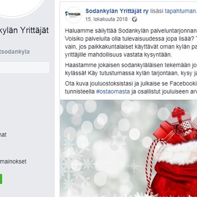 Sodankylän Yrittäjien fb-sivu