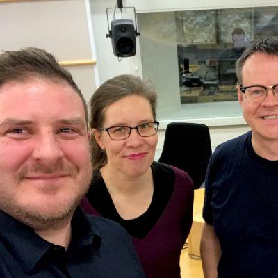 Sakari Röyskö, Hanna Lappalainen ja Pasi Heikura