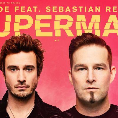 Darude feat. Sebastian Rejman: Superman -levynkansi