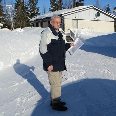 Antero Peltonen rakensi Ruotsista palattuaan talon Tornion Arpelaan.