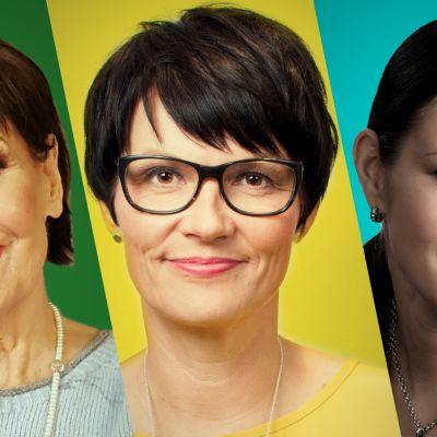 Pirkko Arstila, Salla Paajanen ja Riina Katainen keskustelevat vaihdevuosista Yle Perjantain suorassa lähetyksessä 15. maaliskuuta klo 21.05 Yle TV1:ssä. Jakson tallenne löytyy Areenasta lähetyksen jälkeen.