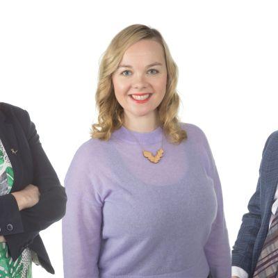 Eeva-Maria Maijala, Katri Kulmuni ja Markus Lohi