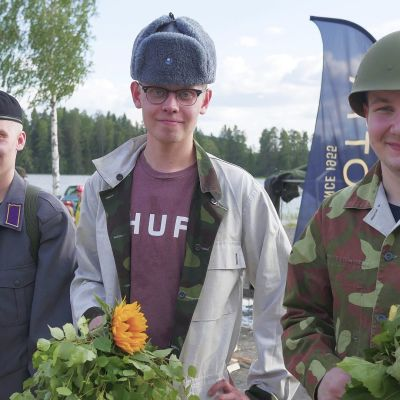 Team Saunavoima voitti Saunanlämmityksen MM-kisan Peurungassa kesällä 2018.
