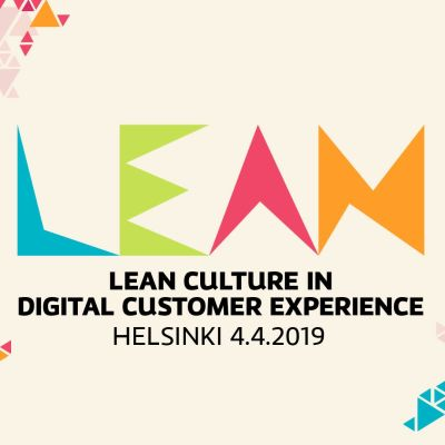 Lean Culture in Digital Customer Experience 2019