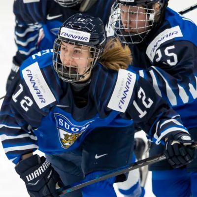 Jääkiekon naisten MM, Venäjä - Suomi