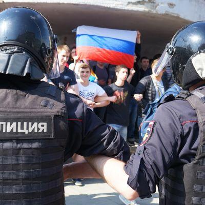Mielenosoitus Venäjä