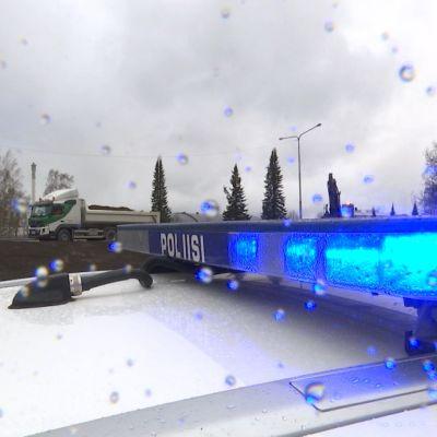 Kauppapuistikon liittymätyömaa Vaasassa.