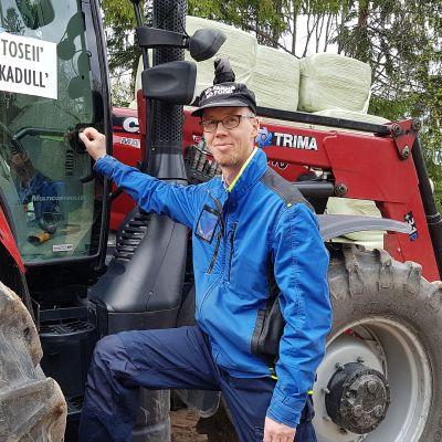 maanviljelijä Antti Arminen