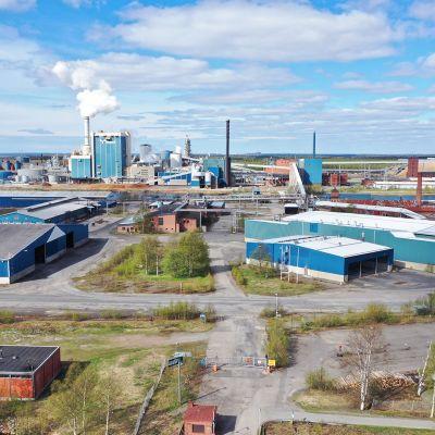 Metsä Groupin Kemin tehdas.