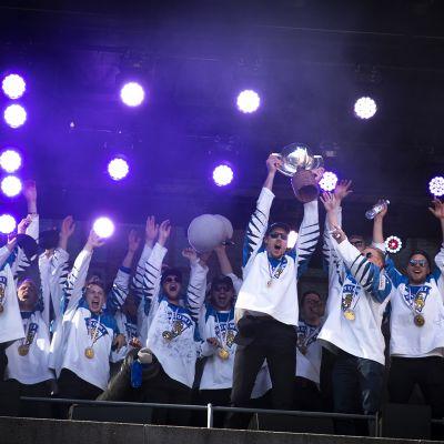 MM-kultajuhlat Tampereella