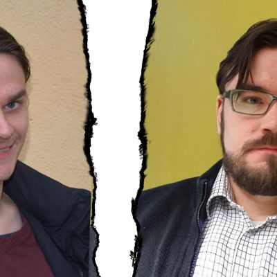 Jaakko Lindfors ja Johannen Yrttiaho