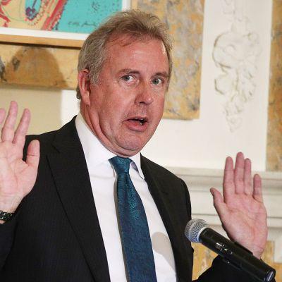 Britannian Yhdysvaltain-suurlähettiläs Kim Darroch.
